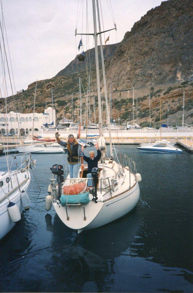 Agua Profunda departing Agua Dulce, Spain...
